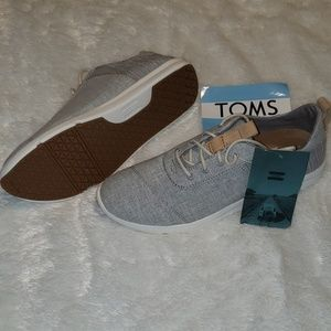 Toms Shoes | Drizzle Grey Chambray Mix